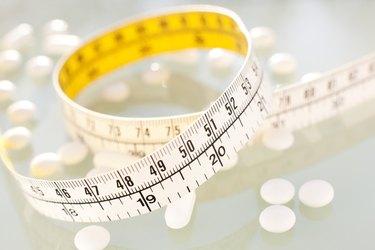 Diet pills, conceptual image