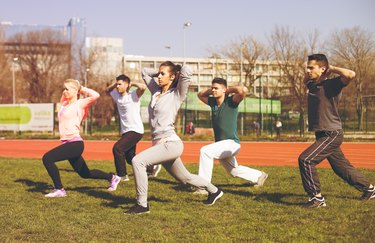 Lunge for a healthy life