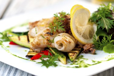 grilled squid