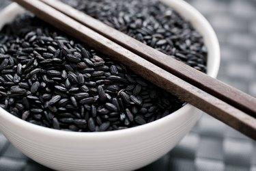 Bowl of Black Rice Venus