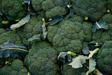 Bushels of broccoli
