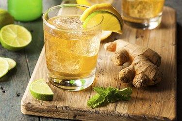 Organic Ginger Ale Soda