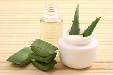 aloe cream and oil
