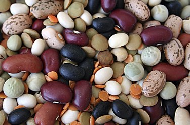 Background - dried beans