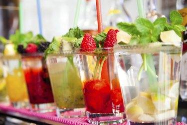 Refreshing cocktail