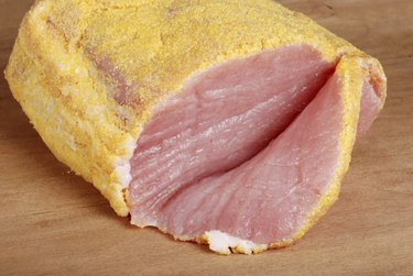 sliced canadian peameal bacon