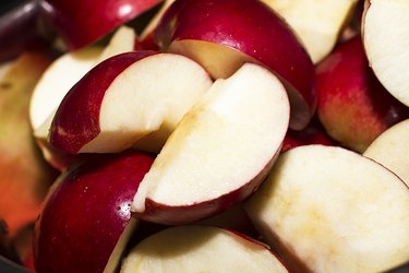 Red Apple Slices