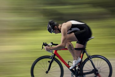 Cyclists competitor