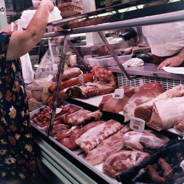 Beef Stand, Public Market, Madrid