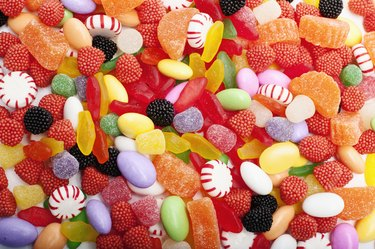 Pile of candy
