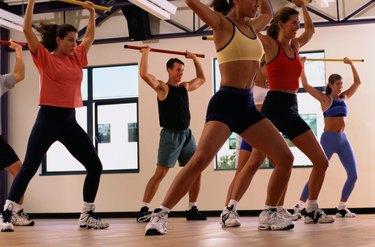 People in an Aerobics Class