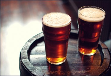 Two pints of beer