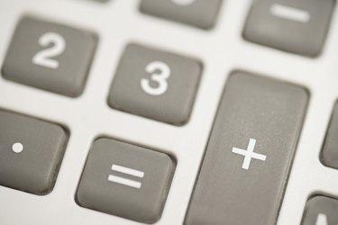 Keys on a calculator