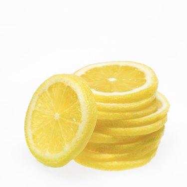 Stack of citrus slices
