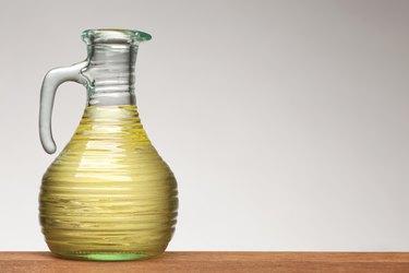 vegetable oil in bottle