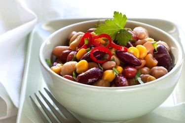 Bean and Corn Salad with Chili