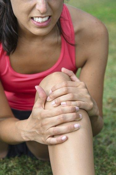Knee sport injury