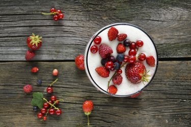 Healthy Meal with fruit