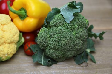 Broccoli and various kind of vegetables