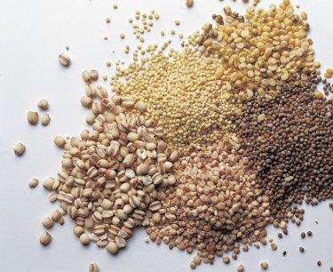 Assortment of grains