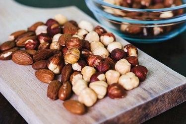 Nuts mixed