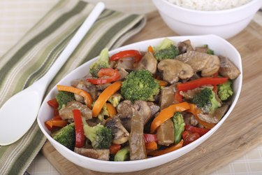 Beef Stir Fried