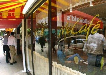 McDonald's McCafe Coffee Shop