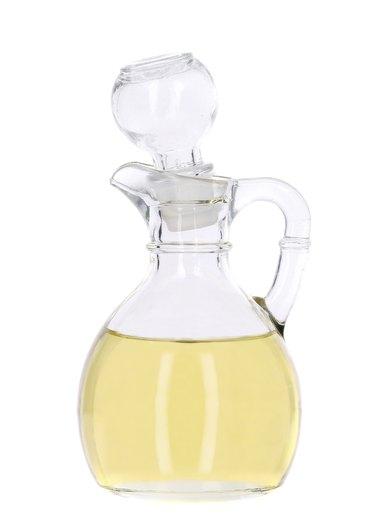Vinegar in glass carafe