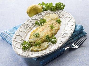 breaded sole fish