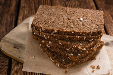 Some slices of brown Bread