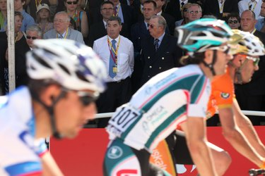 Tour de France stops in Brussels for Eddie Merckx 65th Birthday