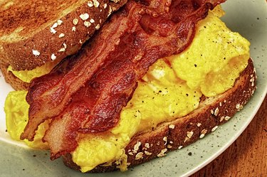 Bacon and Egg  Sandwich.