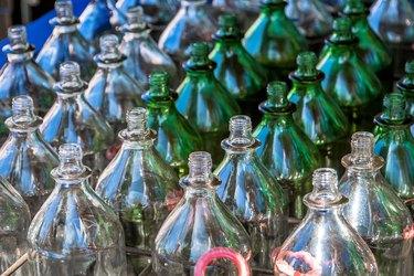 Ring toss bottle game