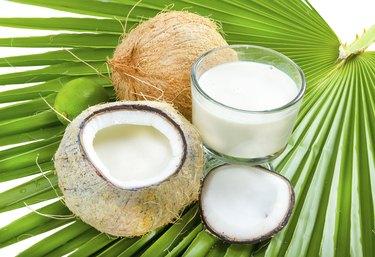 Coconut milk.