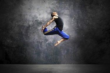 Modern urban dance