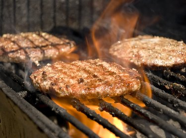 Barbeque Char-Broiled Burger