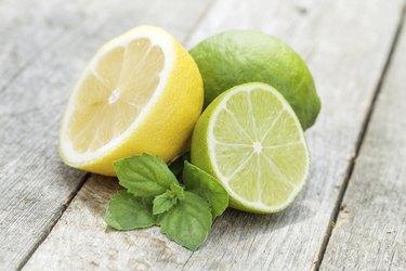 Fresh ripe citruses