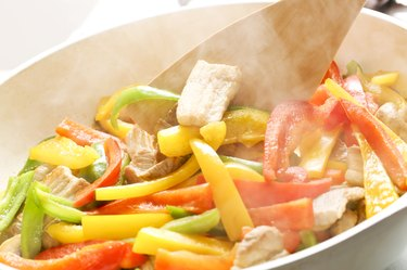 Cooking of vegetables