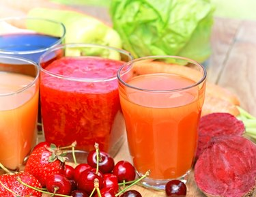 Freshly squeezed juices