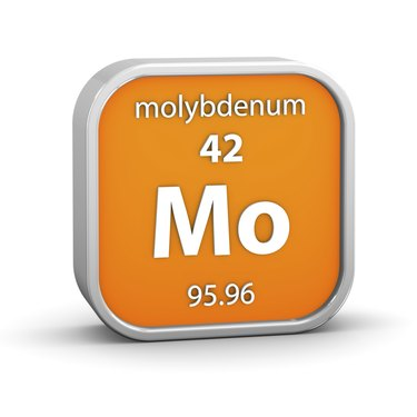 Molybdenum material sign