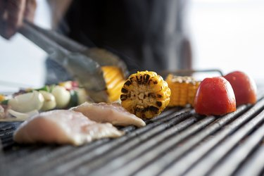 barbeque grilled