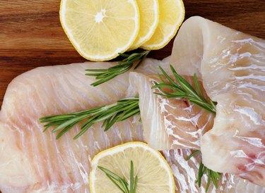 Raw Cod Fish
