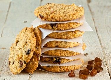 Oatmeal Fruit cookies