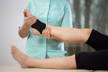 Ankle manipulation