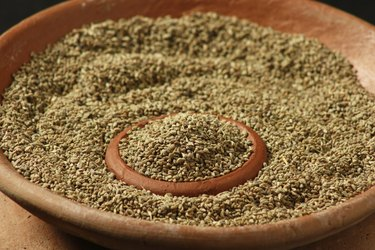 Ajwine or Carom Seeds is a spice
