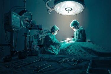 Surgeons team working