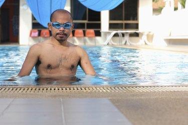 Men's swimming.