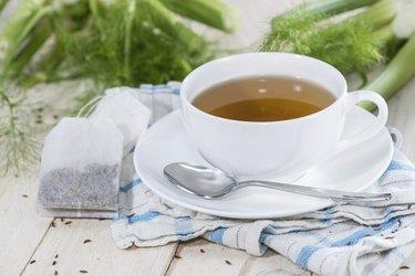 Fresh made Fennel Tea