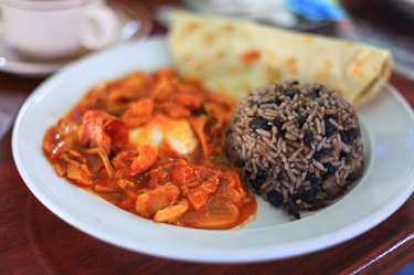 Traditional Latin American Breakast