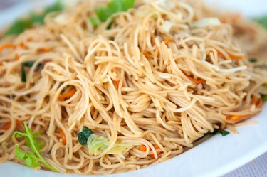 Close-up Asian Noodles